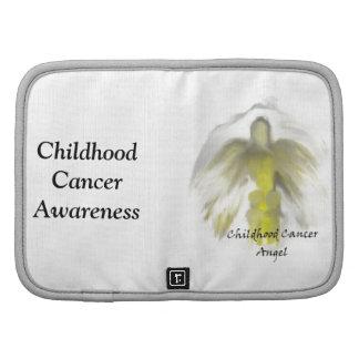 Childhood Cancer Angel Folio Mini Planner