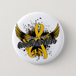 Childhood Cancer Awareness 16 Pinback Button