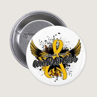 Childhood Cancer Awareness 16 Pinback Button
