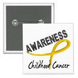Childhood Cancer Awareness 3 Buttons