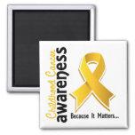 Childhood Cancer Awareness 5 Magnets