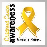 Childhood Cancer Awareness 5 Poster