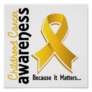 Childhood Cancer Awareness 5 Poster
