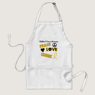Childhood Cancer Awareness Adult Apron