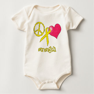 Childhood Cancer Awareness Baby Bodysuit