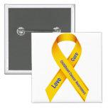 Childhood Cancer Awareness Badge Button
