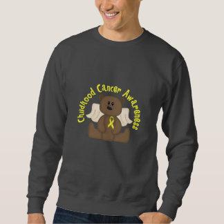 Childhood Cancer Awareness Bear Sweatshirt
