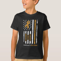 Childhood Cancer Awareness because it Matters T-Shirt