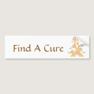 Childhood Cancer Awareness Bumper Sticker