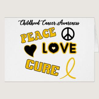 Childhood Cancer Awareness Card