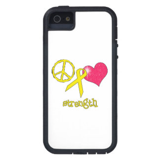 Childhood Cancer Awareness iPhone 5 Covers