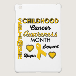 Childhood Cancer Awareness Case For The iPad Mini