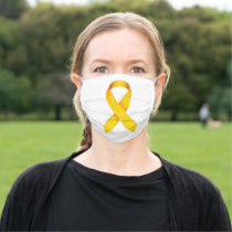 Childhood Cancer Awareness Cloth Face Mask