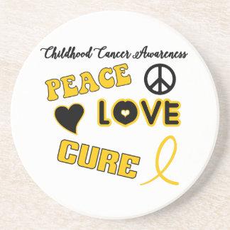 Childhood Cancer Awareness Coaster