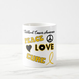 Childhood Cancer Awareness Coffee Cup