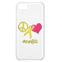 Childhood Cancer Awareness Cover For iPhone 5C