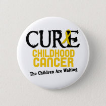 Childhood Cancer Awareness CURE Button