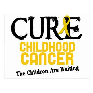 Childhood Cancer Awareness CURE Postcards