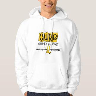 Childhood Cancer Awareness CURE Sweatshirt