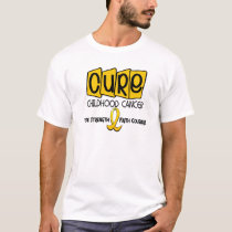 Childhood Cancer Awareness CURE T-Shirt