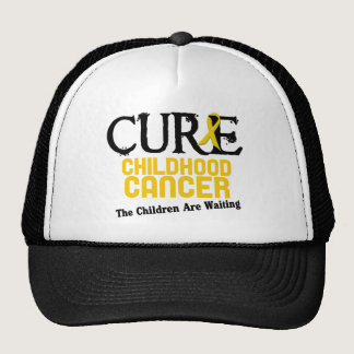 Childhood Cancer Awareness CURE Trucker Hat