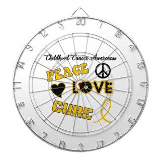 Childhood Cancer Awareness Dartboard