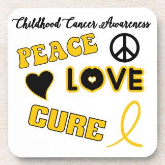 Childhood Cancer Awareness Drink Coaster