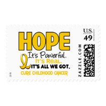 Childhood Cancer Awareness HOPE 1 Postage