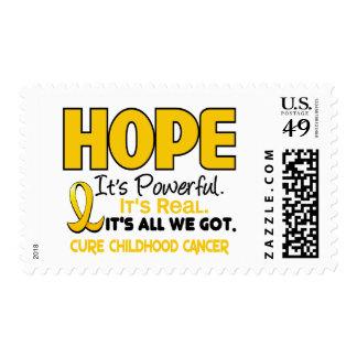 Childhood Cancer Awareness HOPE 1 Stamp