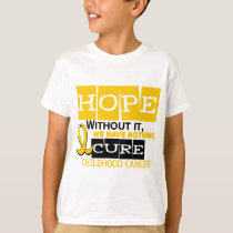 Childhood Cancer Awareness HOPE 2 T-Shirt
