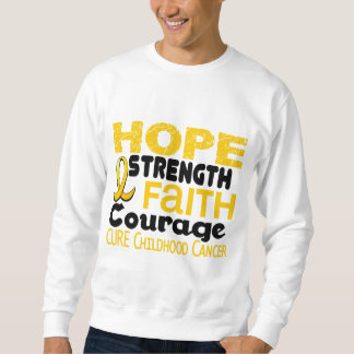 Childhood Cancer Awareness HOPE 3 Sweatshirt