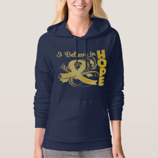 Childhood Cancer Awareness I Believe in Hope Pullover