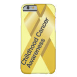 Childhood Cancer Awareness iPhone 6 case