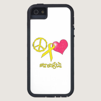 Childhood Cancer Awareness iPhone SE/5/5s Case