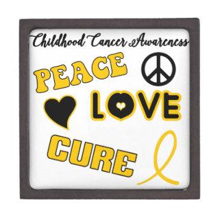 Childhood Cancer Awareness Jewelry Box