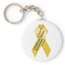 Childhood Cancer Awareness Keychain
