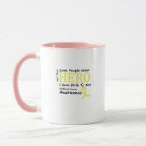 Childhood Cancer Awareness Meet My Hero Fightings Mug