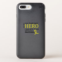 Childhood Cancer Awareness Meet My Hero Fightings Speck iPhone Case