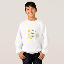 Childhood Cancer Awareness Meet My Hero Fightings Sweatshirt