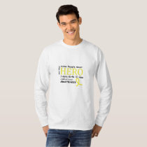 Childhood Cancer Awareness Meet My Hero Fightings T-Shirt
