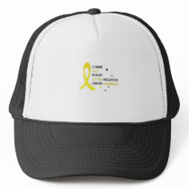 Childhood Cancer Awareness Meet My Hero Fightings Trucker Hat