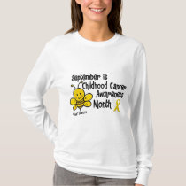 Childhood Cancer Awareness Month Bee 1.3 T-Shirt