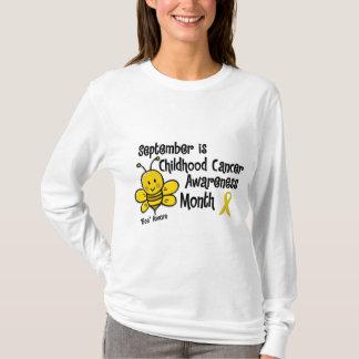Childhood Cancer Awareness Month Bee 1.3 T-Shirt