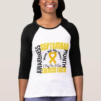 Childhood Cancer Awareness Month Heart 1.2 T-Shirt