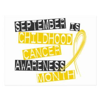 Childhood Cancer Awareness Month L1 Postcard