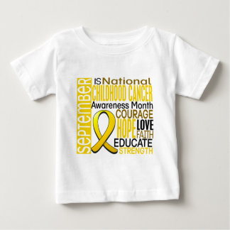 Childhood Cancer Awareness Month Ribbon I2 1.3 Baby T-Shirt