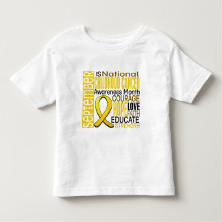 Childhood Cancer Awareness Month Ribbon I2 1.3 T-shirts