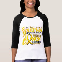 Childhood Cancer Awareness Month Ribbon I2 1.5 T-Shirt