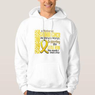 Childhood Cancer Awareness Month Ribbon I2 1 Hooded Sweatshirt