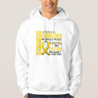 Childhood Cancer Awareness Month Ribbon I2 1 Hoodie